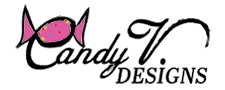 Candy V Designs Logo